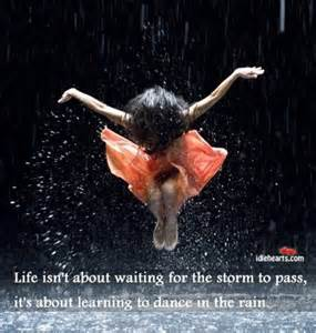 dance in the rain girl